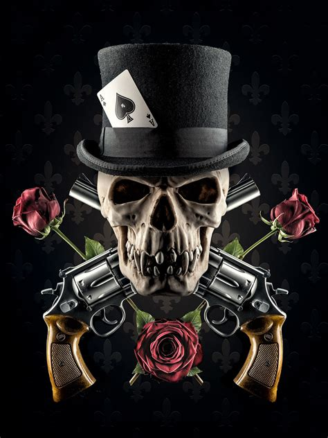 Elegant Papel De Parede Guns N Roses 3d wallpaper craft