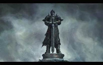 Knight Sword Medieval Warrior Stone Wallpapers Backgrounds