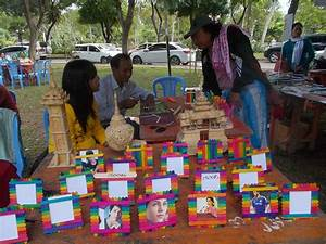 Wood crafts sell well at 4th Irrawaddy Literary festival