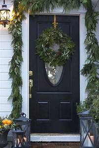 Home, For, The, Holidays-, 4, Ideas, For, Simple, Front, Door, Decorating