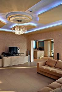 Wohnzimmer Gestalten Grau : 95 wohnzimmer gestalten mit led auch mit indirekter ~ Michelbontemps.com Haus und Dekorationen