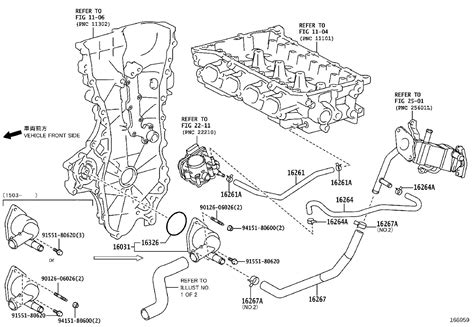 2010 Priu Engine Diagram by 2010 Toyota Prius Hose Water By Pass No 2 Engine