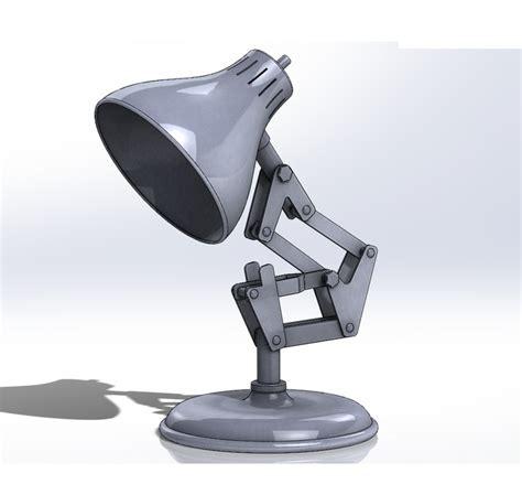 pixar l step iges stl solidworks 3d cad model