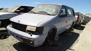 Junkyard Gem  1994 Dodge Caravan With Manual Transmission