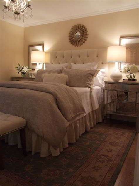 bedroom nightstand lights best 25 mirror behind nightstand ideas on pinterest 10584   649a8eeac20f3679f221d52f409cae32 tufted headboards fabric headboards
