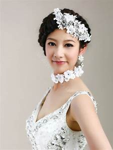 Buy Wholesale Wedding Bride Jewelry Crystal Flower Lace