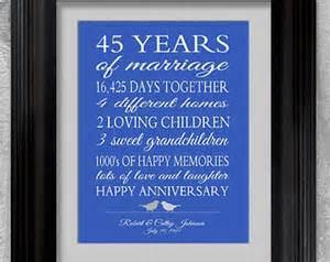 45th wedding anniversary gift happy 45th anniversary quotes quotesgram