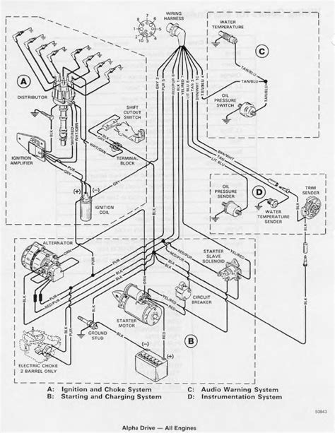 Mercruiser 5 7 Alternator Wiring Diagram by Mercruiser 5 7 Starter Wiring Question Bloodydecks
