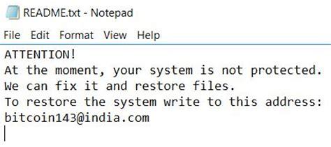 Remove Dharma Zzzzz Files Virus And Restore The Data