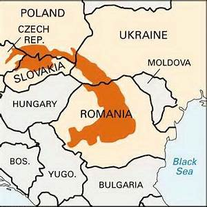 Carpathian Mountains: location - Students | Britannica ...