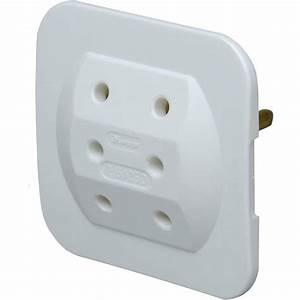 3 Fach Stecker : kopp euro adapter 3 fach extra flach arktis ebay ~ Frokenaadalensverden.com Haus und Dekorationen