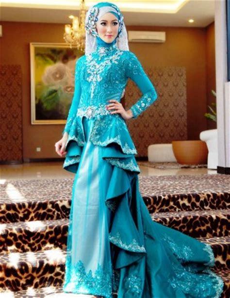 contoh baju muslim model kebaya modern terbaik