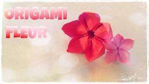 Faire Des Origami : comment faire une fleur en origami fleur en papier youtube ~ Nature-et-papiers.com Idées de Décoration