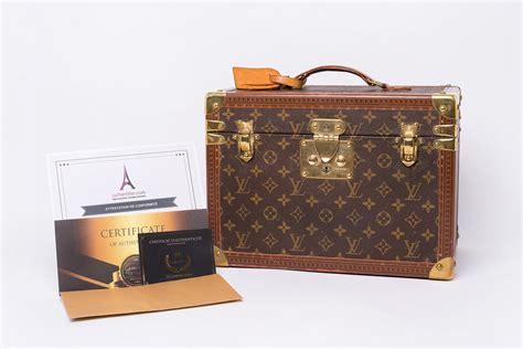 Genuine Second-hand Large Louis Vintage Vanity Case In