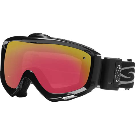 ski goggles with fan smith prophecy turbo fan goggle photochromic