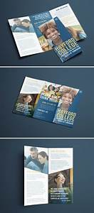 Design Your Own Flyer Free College Brochure Template Simple Tri Fold Design