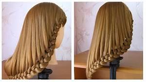 Coiffure Tresse Facile Cheveux Mi Long : coiffure simple cheveux mi long long tuto coiffure ~ Melissatoandfro.com Idées de Décoration