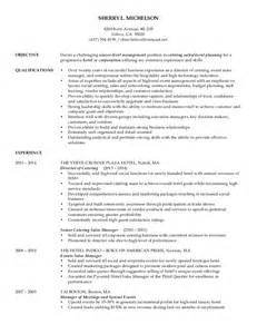 sle event planner resume michelson resume catering sales event planning 2015