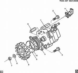 Fuel Injection Pump Drive Gear  Chevy  Gmc  2001