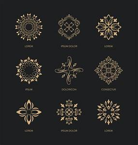 decorative ornaments collection vector free download With decorative letter ornaments