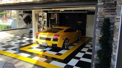 20  Garage Flooring Tiles Designs, Ideas   Design Trends