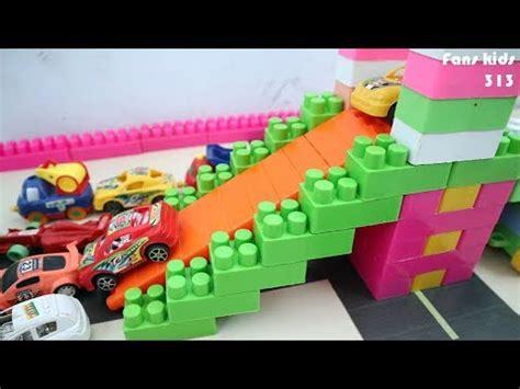 membuat prosotan  mobil  lego block mainan bongkar pasang balok lego  anak