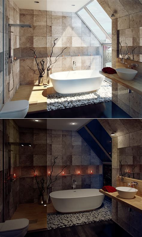 Sunlight Streams Into Bathrooms Connected To Nature by Sunlight Streams Into Bathrooms Connected To Nature Home