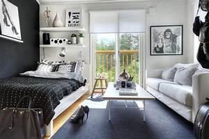 Teenager Zimmer Kleiner Raum : 1 zimmer wohnung einrichten ideen ~ Sanjose-hotels-ca.com Haus und Dekorationen