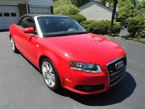 convertible audi red cabriolet red audi a4 used cars mitula cars