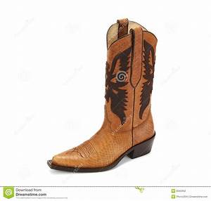 Cowboy Boot Stock Photography - Image: 8343452