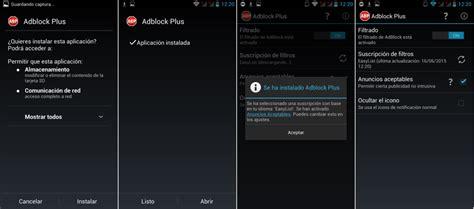 ad block android c 243 mo instalar configurar y usar adblock plus en android