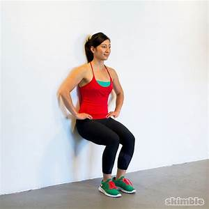 100 Second Wall Sit Challenge - Free Workout