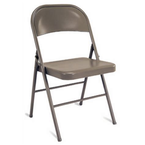 shop cosco all steel folding chair at lowes