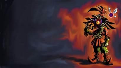 Mask Majoras Wallpapers Zelda Legend Majora Cave