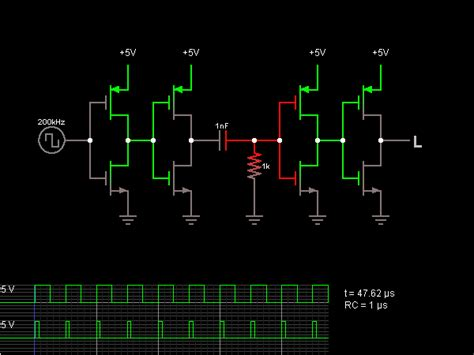 Leading Edge Detector Circuit Simulator