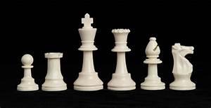 "Single Weighted Regulation Plastic Chessmen - 3.75"" King ..."