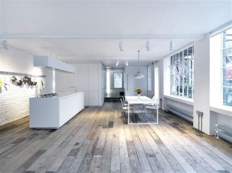 Minimalist Loft With Luxurious Details by Warehouse Turned Into A Minimalist Loft Only In