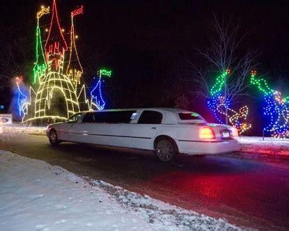 limo christmas light tour limo ride christmas lights tour w pizzas chocolates