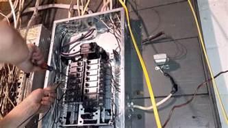diy add single pole breaker and 12ga wire to breaker box