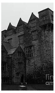 Donegal Castle Exterior bw Photograph by Eddie Barron