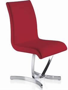 Chaise Rouge Design : chaise design rouge sipa lot de 2 ~ Teatrodelosmanantiales.com Idées de Décoration