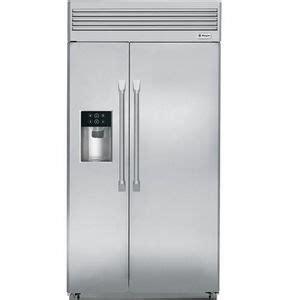zispdhss ge monogram  built  professional side  side refrigerator  disp