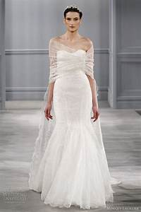 monique lhuillier spring 2014 wedding dresses wedding With shawl for wedding dress