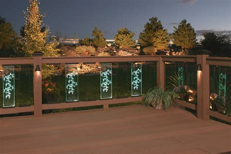 deck railing lights ideas deck lighting ideas deck stair lighting houselogic lighting tips
