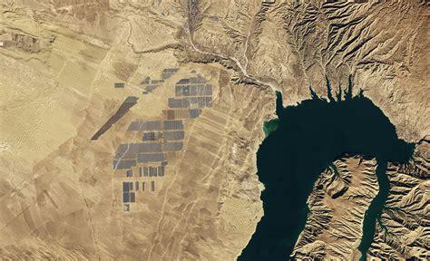 worlds largest solar farm  space