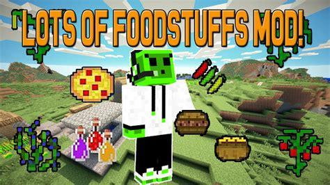 mod鑞es cuisine minecraft mods best food mod lots of foodstuffs mod 1 7 10