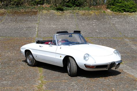 Alfa Romeo Spider Classic Cars Convertible Blanc White