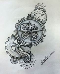 Steampunk Compass by Shaza719   Tattoos, Tattoo designs ...