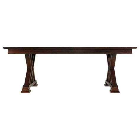 stanley continuum dining table stanley continuum double pedestal table 816 11 39 dining