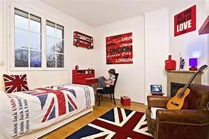 deco chambre london ado With idee deco chambre d ado